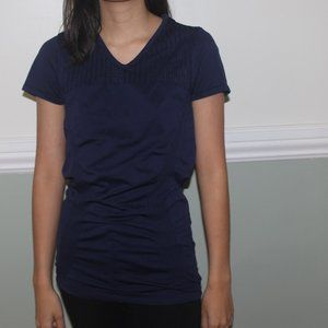 Navy Athleta Workout Top